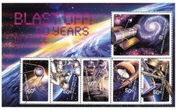 (G 3) Australia - Mint Mini Sheet - Blast Off - 50 Years / Space - 2010-... Elizabeth II