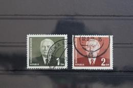 DDR 342-343 Gestempelt Mit Poststempel Bedarfsstempel #SX748 - [6] Democratic Republic