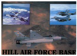 (G 5) USA - Hill Air Force Base - F-16 Aircraft - 1946-....: Modern Era