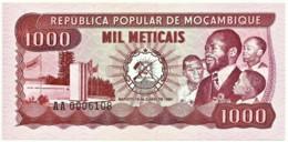Mozambique - 1000 Meticais - 16.06.1980 - Unc. - P 128 - Serie AA - 1.000 - Mozambique