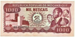 Mozambique - 1000 Meticais - 16.06.1980 - P 128 - Serie AA - 1.000 - Mozambique