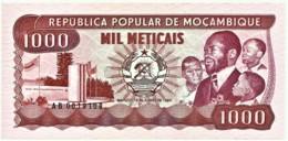 Mozambique - 1000 Meticais - 16.06.1983 - Unc. - P 132.a - Serie AB - 1.000 - Mozambique
