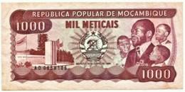 Mozambique - 1000 Meticais - 16.06.1986 - P 132.b - Serie AD - 1.000 - Mozambique