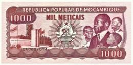 Mozambique - 1000 Meticais - 16.06.1989 - Unc. - P 132.c - Serie CA - 1.000 - Mozambique