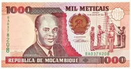 Mozambique - 1000 Meticais - 16.06.1991 - Unc. - P 135 - Serie BA - 1.000 - Mozambique