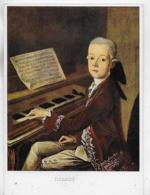 AK 0523  Helbling , Thaddäus - Der Junge Mozart ( Komponist ) - Chanteurs & Musiciens