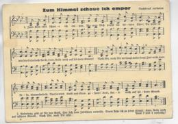AK 0523  Zum Himmel Schaue Ich Empor - Zangers En Musicus