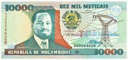 Mozambique - 10000 Meticais - 16.06.1991 - Unc. - P 137 - Serie DA - 10.000 - Mozambique
