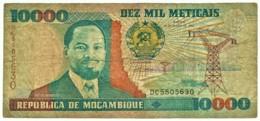 Mozambique - 10000 Meticais - 16.06.1991 - P 137 - Serie DC - 10.000 - Mozambique