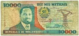 Mozambique - 10000 Meticais - 16.06.1991 - P 137 - Serie DF - 10.000 - Mozambique