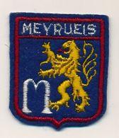 Ecusson Tissu Feutrine => MEYRUEIS - Ecussons Tissu