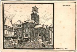 41lo 1O49 CPA - RATHAUS - E. HARTWIG 1915 - Charleville