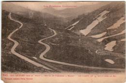 41ib 1010 CPA - COL DE PORT - ROUTE DE TARASCON A MASSAT - France