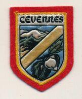 Ecusson Tissu Feutrine => CEVENNES - Ecussons Tissu
