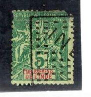 35091 - Carré De  Points - India (1892-1954)