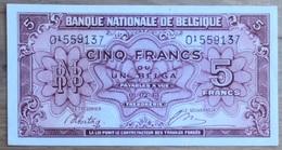 5 Francs Londen UNC!! Verzamelstuk!! 9137 - [ 2] 1831-... : Regno Del Belgio