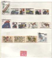Tschechoslowakei 1971 Siehe Bild/Beschreibung 16 Marken Gestempelt, Used - Czechoslovakia