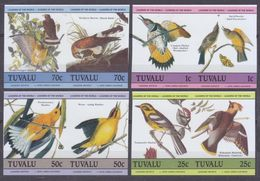1985Tuvalu276-283bPaarBirds15,00 € - Passereaux