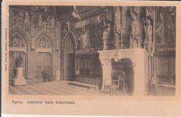 Ypres - Intérieur, Salle Échevinale - Ieper