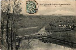 CPA Chateauneuf-du-Faou - Le Pont Du Roi - Vue Vers Les Montagnes (1033078) - Châteauneuf-du-Faou