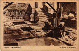 CPA Landivisiau - Le Lavoir Et La Fontaine (1033259) - Landivisiau