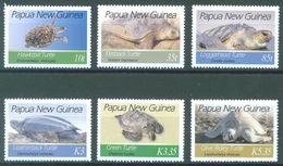 PAPUA NEW GUINEA -  MNH/*** LUXE - 2007 - ENDANGERED MARINE TURTLES - Yv 1133-1138 -  Lot 21906 - Papua-Neuguinea