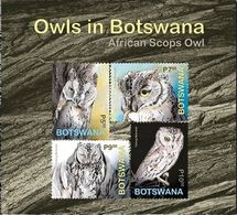 Botswana 2020 Bird- Owls Ss Mint - Botswana (1966-...)