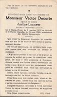 Haute-croix, Heikruis, St Pierre Capelle: Victor Decorte, Lanneer - Andachtsbilder