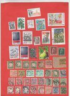 Lot De 47 Timbres MONDE Oblitérés - Collections (without Album)