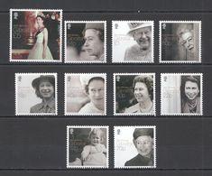NW042 2016 GIBRALTAR ROYALS QUEEN ELIZABETH II #1717-26 MICHEL 14.6 EURO SET MNH - Royalties, Royals