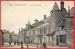 -- TERMINIERS (Eure Et Loir) - L'ANCIEN CHÂTEAU -- - Autres Communes