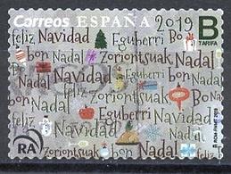 Espagne - Spain - Spanien 2019 Y&T N°5102 - Michel N°5398 (o) - B Noël - 2011-... Used