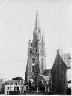 29 - DOUARNENEZ - Eglise - Cliché Albuminé Vers 1900 - Douarnenez