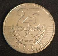 COSTA RICA - 25 COLONES 1991 - KM 229 - Costa Rica