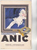 CPA - CIGARETTES ANIC Beau Graphisme Par Illustrateur DRANSY - Régie Française Des Tabacs Bel état - Advertising