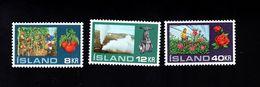 1052726760 SCOTT 443 445 POSTFRIS (XX) MINT NEVER HINGED EINWANDFREI  - HOTHOUSE GARDENING IN ICELAND - 1944-... Repubblica