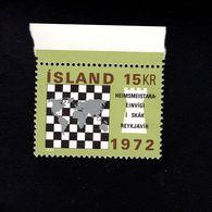 1052727921 SCOTT 442 POSTFRIS (XX) MINT NEVER HINGED EINWANDFREI  - WORLD CHESS CHAMPIONSHIP REYKJAVIK - 1944-... Repubblica