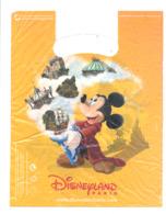 Sachet En Plastique DISNEYLAND Paris - Walt Disney, Mickey, BD,.. - Objets Publicitaires