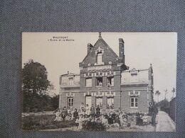 Maucourt   L école Et La Mairie - Other Municipalities