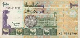 Soudan Sudan : 1000 Dinars 1996 Très Bon état - Sudan