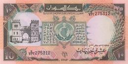 Soudan Sudan : 10 Pounds 1991 UNC - Sudan