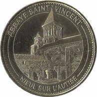 2015 MDP182 - NIEUL-SUR-L'AUTISE - Abbaye St Vincent / MONNAIE DE PARIS - 2015