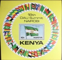 Kenya 1981 OAU Summit Minisheet MNH - Kenia (1963-...)