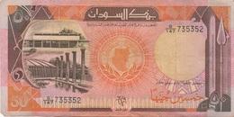 Soudan Sudan : 50 Pounds 1991 Bon état - Sudan