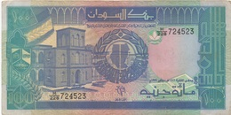 Soudan Sudan : 100 Pounds 1991 Moyen état - Soedan