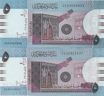 Soudan Sudan : 5 Pounds 2011 UNC - Sudan