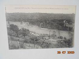 Chateaufort. Vue Panoramique Sur La Vallee Du Merantais Et Le Chateau De La Geneste. Edit. Bessac - France