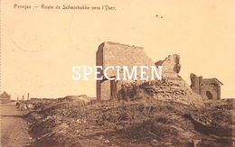 Route De Schoorbakke Vers L'Yser -  Pervijze - Diksmuide