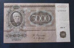 FINLAND 5000 MK 1945  D-0375 - Finland