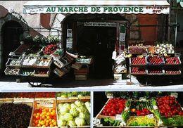 Magasin  Au Marché De Provence   Fruit Légume Cerise Melon - Magasins